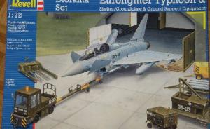 Diorama Set Eurofighter Typhoon & Shelter