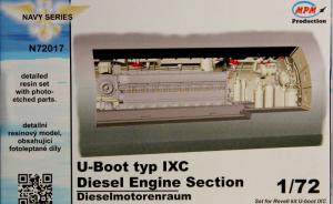 U-Boot typ IXC Diesel Engine Section