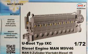 U-Boot typ IXC Diesel Engine MAN M9V46