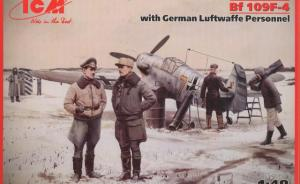 Detailset: Bf 109F-4 with German Luftwaffe Personnel