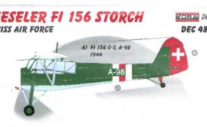 Fieseler Fi 156 Storch Swiss Air Force
