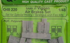 Saab 37 Viggen Air Brakes Set
