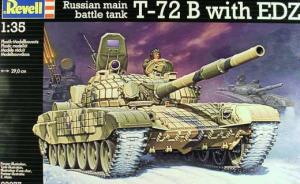 Russian MBT T-72B with EDZ