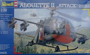"Bausatz: Alouette II ""Attack"" Nord SS-11 & missiles"