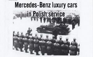Mercedes-Benz luxury cars in Polish service