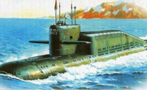 Russian Nuclear Powered Submarine K-407, NATO Delta IV class