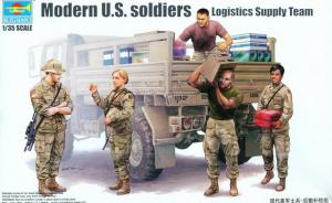 : Modern U.S. Soldiers - Logistics Supply Teamy