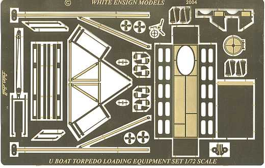 White Ensign Models - Torpedo Loading Set