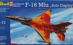 ": F-16 MLu ""Solo Display"""