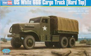 US White 666 Cargo Truck (Hard Top)