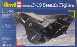 Bausatz: Lockheed F-19 Stealth Fighter