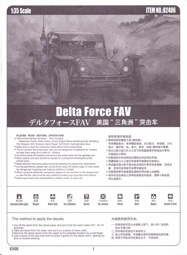 Delta Force FAV