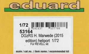 Bausatz: DGzRS H. Marwede (2015 Edition) Heliport