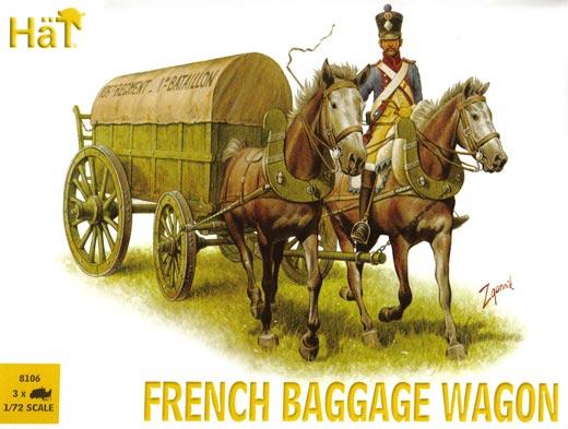 Französischer Regiments-Bagagewagen, HäT Nr. 8016 ...