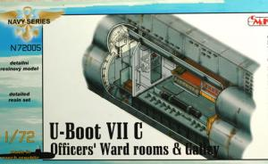 U-Boot VII C Officer's Ward rooms & Galley