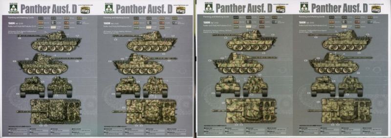 Panther Ausf.D Early/Mid Production 2in1