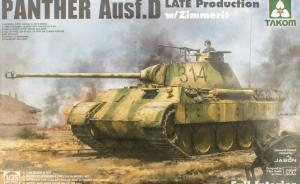 Panther Ausf.D Late Production w/ Zimmerit