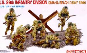 U.S. 29th Infantry Division – Omaha Beach D-Day 1944