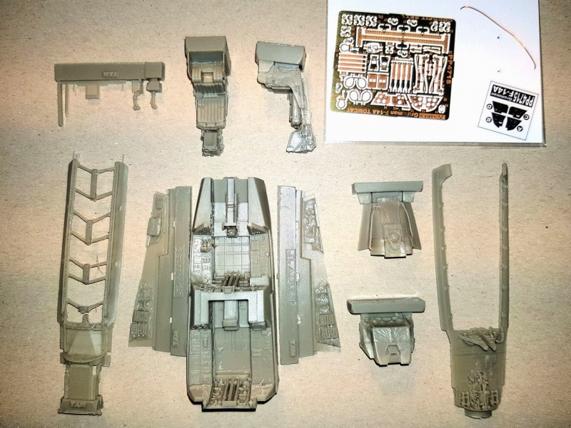 Aires - F-14A Tomcat Cockpit Set for Tamiya