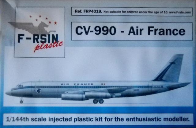 cv-990 air france  f-rsin nr  frp4019