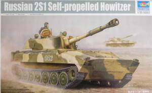 Russian 2S1 Self-propelled Howitzer