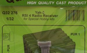 Yak-3 RSI 4 Radio Receiver