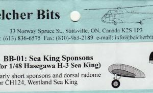 Bausatz: Sea King Sponsons