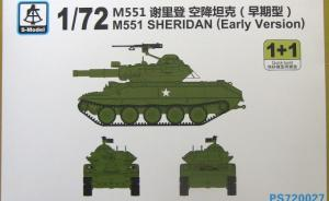 M551 Sheridan (Early Version)
