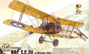 RAF S.E.5a with Hispano Suiza