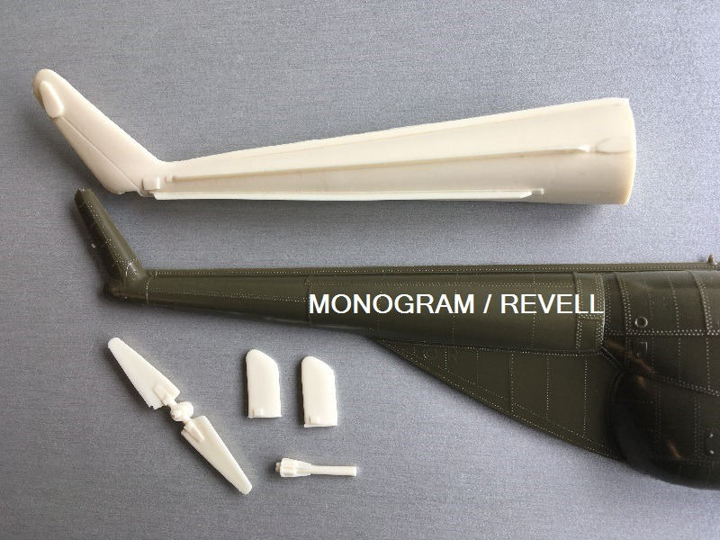 Lone Star Models - H-19-2 cranked tail boom
