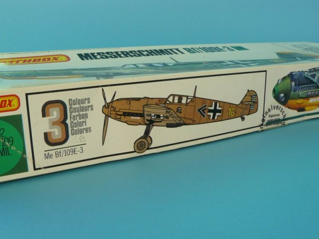 Matchbox - Messerschmitt Bf/109E-3