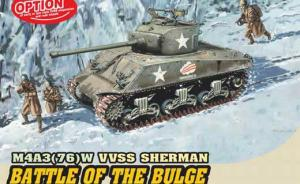 "Detailset: M4A3 (76) W VVSS Sherman ""Battle of the Bulge"""