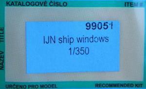 IJN Ship Windows