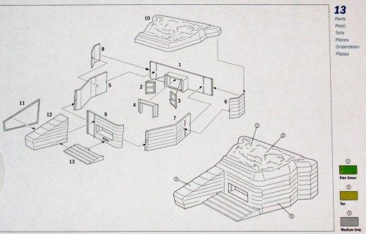 coastal defence bunker italeri nr 6085 modellversium. Black Bedroom Furniture Sets. Home Design Ideas