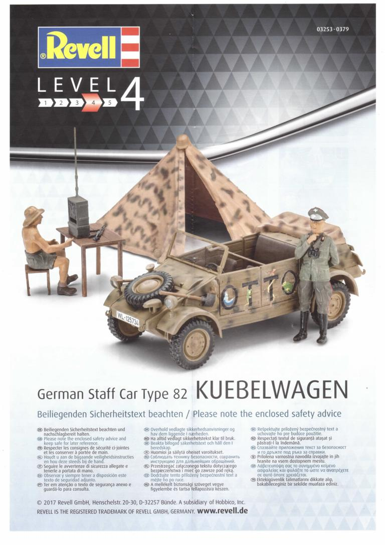 German Staff Car Type 82 Kuebelwagen