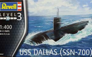 Kit-Ecke: USS Dallas (SSN-700)