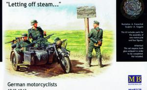 German motorcyclists 1940-1943
