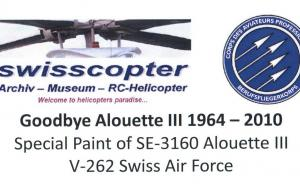 Kit-Ecke: Goodbye Alouette III 1964-2010