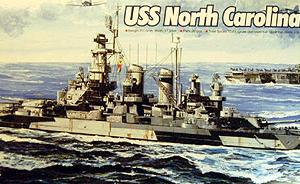 Bausatz: USS North Carolina BB-55