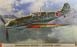 ": Messerschmitt Bf109E-7 ""Japanese Army"""