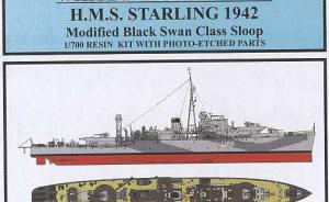Modified Black Swan Class Sloop HMS Starling U66