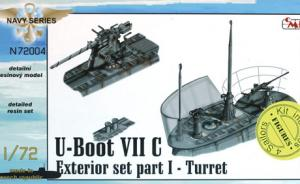 U-Boot VII C Exterior set I – Turret
