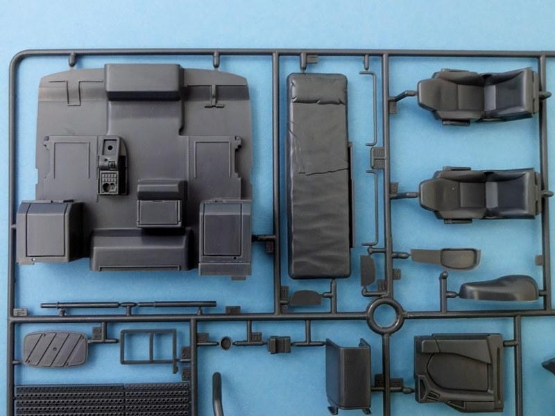 Man tgx xlx euro5 revell nr 07426 modellversium kit ecke for Interieur gegenteil
