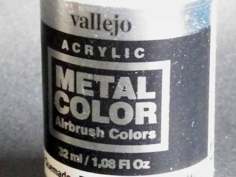 Vallejo Acrylic Metal Color Airbrush Colors